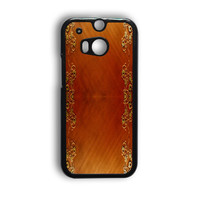 Wooden Surface HTC One M9 Case