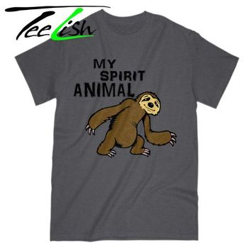 funny sloth t-shirt
