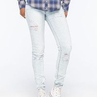 Roxy Suntrippers Distressed Womens Skinny Jeans Bleach  In Sizes