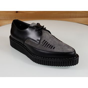 Creeper 721 Black Leather Grey Suede 1