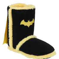 DC Comics Batman Caped Slipper Boots