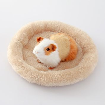 Hamster Nest Pad Pet Nest Velvet Warm Cotton Nest Pad Hamster Hedgehog Chinchillas Rabbit Pet Bed Small Pet Litter Pad