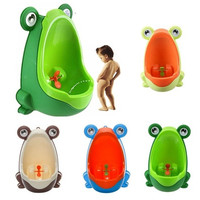 Kids Fashion Baby Potty Frog Children Little Boys Potty Toilet Training Kids Baby Toilet Training Children Boy Potty Urinal Pee Trainer Urine Home Decor Bathroom Accessories [9145126854]