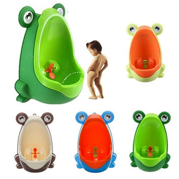Kids Fashion Baby Potty Frog Children Little Boys Potty Toilet Training Kids Baby Toilet Training Children