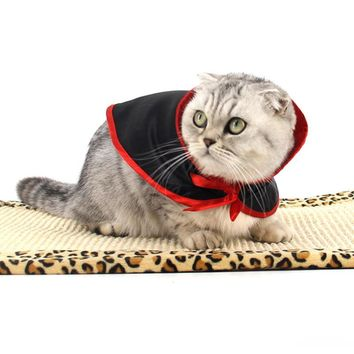 New 29*28cm Halloween Dress Up Shawl Parrot Warm Superman Pet Cape Dog Cat Kitten Cloak Costumes For Cats Pet Supplies Mascotas