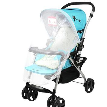 Baby Strollers Mosquito Net For Stroller Carriers Car Seats Cradles Baby Mosquito Net with Bandage Stroller Accessories