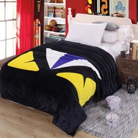 Adidas Fendi Stylish Print Comfortable Soft Fleece Blanket Warm Flannel Travel Blanket Sofa Cover