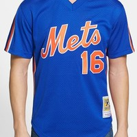 Men's Mitchell & Ness 'Dwight Gooden - New York Mets' Authentic Mesh BP Jersey,
