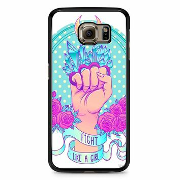 Fight Like A Girl Samsung Galaxy S6 Edge Plus Case