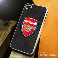 Arsenal Logo iPhone 4 5 5c 6 Plus Case, Samsung Galaxy S3 S4 S5 Note 3 4 Case, iPod 4 5 Case, HtC One M7 M8 and Nexus Case