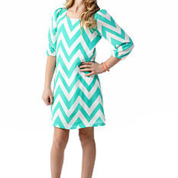 Sequin Hearts Chevron Chemise Dress Girls 7-16 - Belk.com