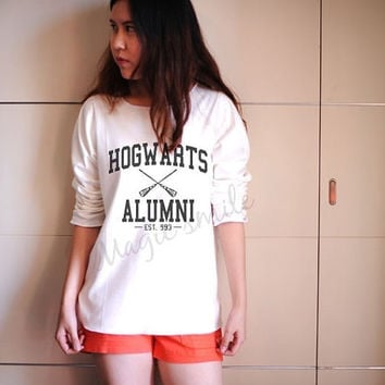 Maroon Hogwarts Alumni Shirt Harry Potter Shirts Premium cotton Crop tank, Tank Top, T-shirt, Long sleeve, unisex shirt