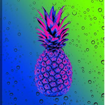 Pineapple Vision I Canvas Wall Art Print
