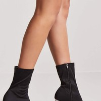 Lucite Sock Boots