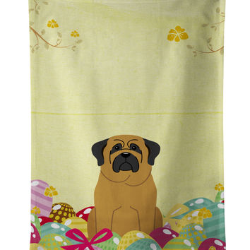 Easter Eggs Mastiff Kitchen Towel BB6018KTWL