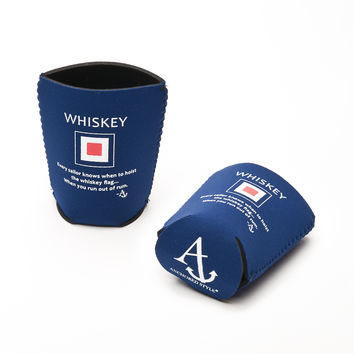 Whiskey Flag Neoprene Coozie
