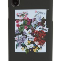 Off-White Flower Shop iPhone X Case | Nordstrom