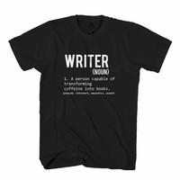 Writer Defined Definition Means Man's T-Shirt