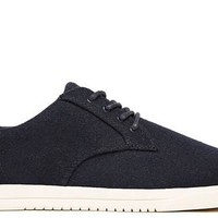 Clae Ellington Textile in Deep Navy Wool