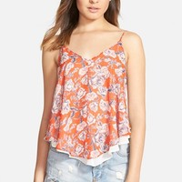 Women's ASTR Print Double Layer Camisole
