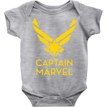 captain marvel 4 Baby Bodysuit