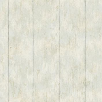 Brewster Wallpaper CCB02182 Reclaimed Cottage Blue Wood