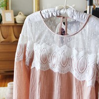 Tillery Lace Blouse