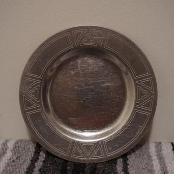 Silver Plate / Silver Plating / Silver Plated Flatware / Stainless Steel Plate / Small Side Trays / Nightstand Trays / Vintage Trays