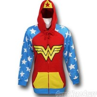 Wonder Woman Womens Juniors Costume Hoodie