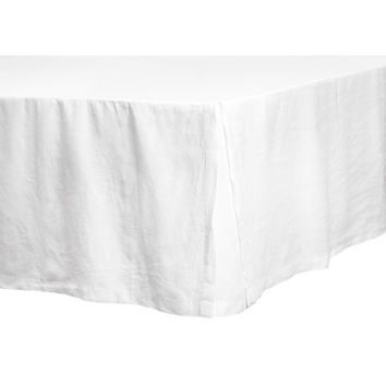 Washed Linen Bedskirt - from H&M