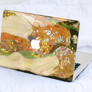 Klimt's Sea Serpents MacBook Decal Skin MacBook decal sticker MacBook Pro Retina Cover MacBook Air Acer Asus Dell HP Lenovo Chromebook