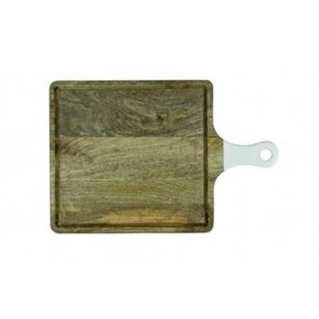 Square cutting board with handle, Medium