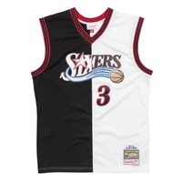 Mitchell & Ness Split Home & Away Swingman Jersey Philadelphia 76ers - Allen Iverson