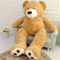 American Giant Bear Skin Huge Size Teddy Bear Skin Quality Semi-finished Bear Hull Toys Party Doll Valentine's Day Gift for Girl