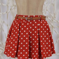 Altar'd State Dotted Minnie Skirt - Skirts - Apparel