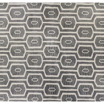 Cadao Rug, Gray, Area Rugs