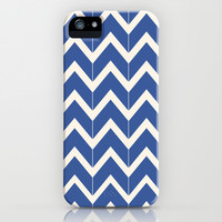 Twilight & Ivory Chevrons iPhone & iPod Case by Beth Thompson