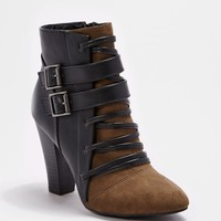 Cross Strap Heeled Bootie By Qupid® | Booties | rue21