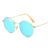 retro vintage Polarized aviator round Goggle Women Sunglasses new lunette Carter Female Sun Glasses Lady Driver Driving Eyewear