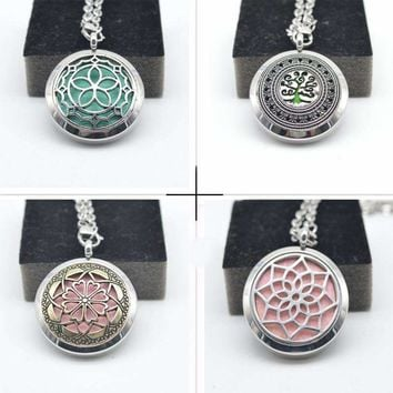 Essential Oil Diffuser Perfume Locket Pendant-Holistic and Trendy Locket Pendant