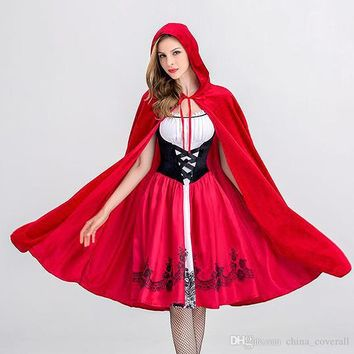 halloween costumes, costume party, Little Red Riding Hood, Castle queen clothes, halloween party Theme Costume
