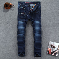 Hot Sale Strong Character Jeans Slim Skinny Pants [6541751427]