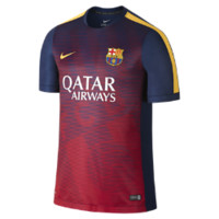 Nike FC Barcelona Squad Short-Sleeve Pre-Match 2 Men's Soccer Shirt