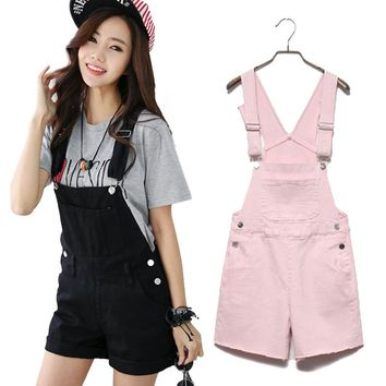 Denim Ladies Overall shorts