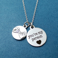 Pinky, Promise, You're my person, You are my person, Necklace, Grey's Anatomy, necklace