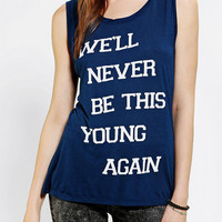 Urban Outfitters - Goodie Two Sleeves Never This Young Muscle Tee