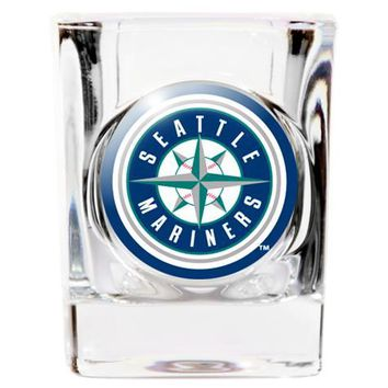 Seattle Mariners Square Shot Glass - 2 oz.