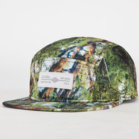 Coal The Exposure Mens 5 Panel Hat Green One Size For Men 23061250001