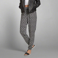 Patterned Drapey Pants