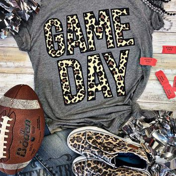 Leopard Gameday Graphic Tee (S-2XL)